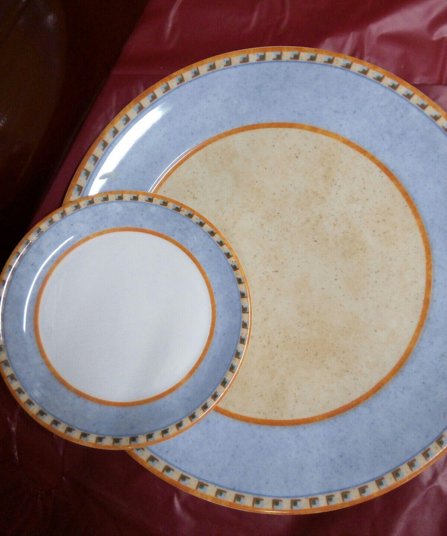 Villeroy & Boch, Gateau Assiette + 12 soucoupes joli Swich 4  NAZARE