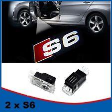 2x S6 LED Geist Schatten Projektor Laser Courtesy Logo Licht für AUDI S LINE