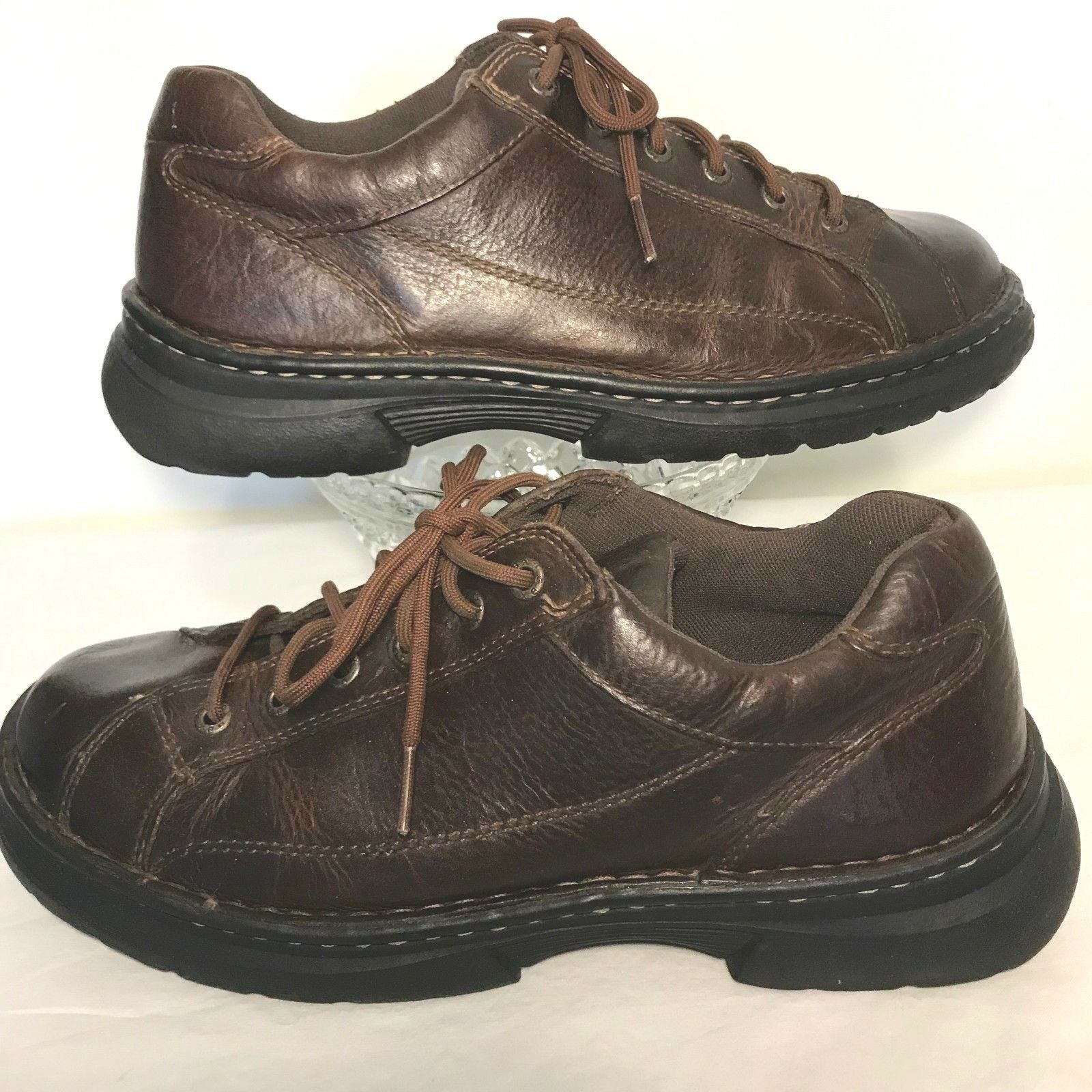 GBX Ridgewood Leather Oxfords shoes Mens 10.5M Casual Work Lace Up
