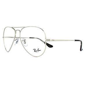 99e1e47bb7 Ray-Ban Glasses Frames 6489 Aviator 2501 Silver 58mm 8053672741872 ...