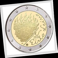 2 EURO *** Finland 2016 *** Eino Leino *** Finlande 2016 !!!