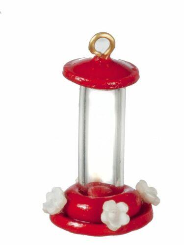 Buy 3 Save $5 Miniature Dollhouse Fairy Garden Red Hummingbird Feeder