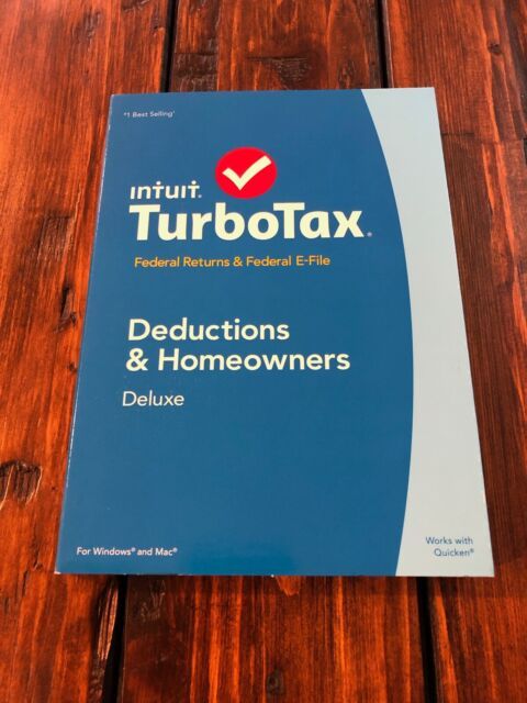 2016 2017 2018 TurboTax Deluxe Federal /& State Turbo Tax 3 New CDs sealed Boxes