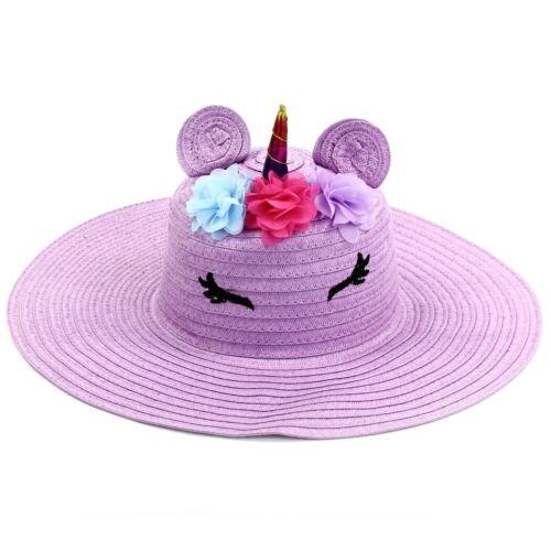 2 In Stock Purple Unicorn Floppy Sunhat From Limited Too Purple Unicorn Hat