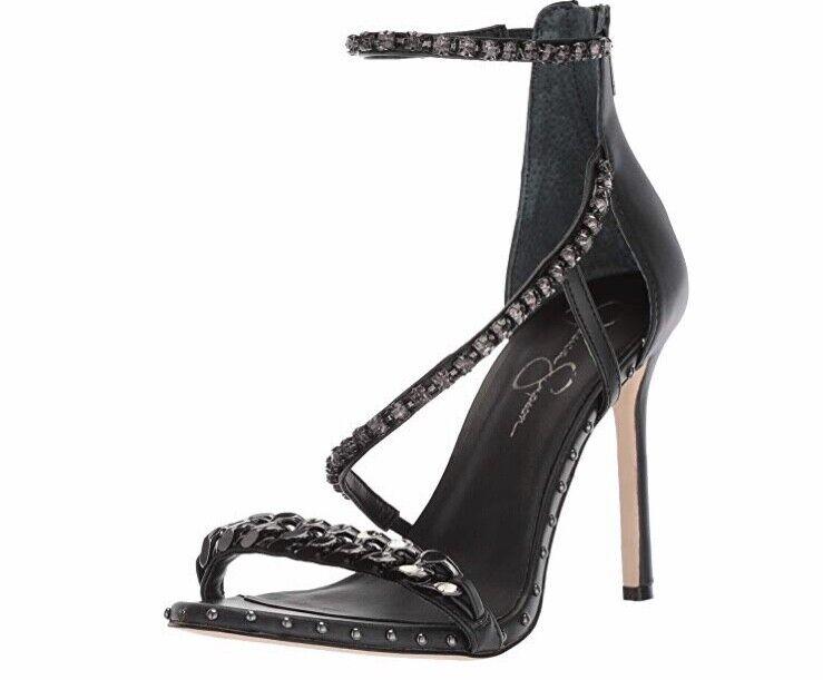 Jessica Simpson Women's JANIX, Black, 7.5 M