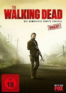 The-Walking-Dead-la-Complete-Cinquieme-5-Relais-DVD-Box-Set-Uncut-Limite-Neuf