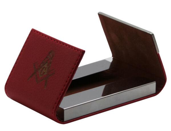 Inteligente Custodia Carta Personalizzata Freemason Personalizzato Inciso Business Id Membro Pass Holder Aroma Fragrante