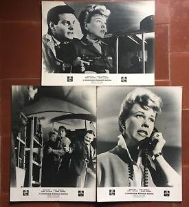 3-Photos-Prestige-the-Diabolical-Mr-Benton-Julie-Doris-Day-Louis-Jourdan