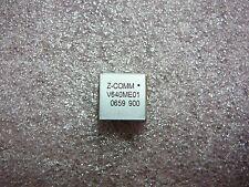 Z Comm Voltage Controlled Oscillator Vco V640me01 2079mhz 2081mhz New 1pkg