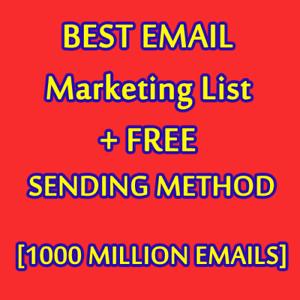1000-MILLION-Database-Email-Marketing-List-NEW-ACTIVE-amp-Free-SENDING-METHODS