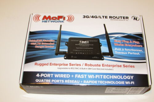 MoFi 4500 Broadband Router Wireless N WiFi MOFI4500-4GXeLTE NO SIM SLOT
