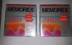 New-2SHD-20-Floppy-Disks-Memorex-Vintage-Formatted-for-IBM-PC-039-s-Computers