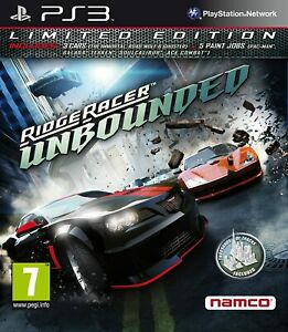 Ridge-Racer-illimite-LIMITED-RACING-Jeu-PS3-Fast-Post-excellent-etat-UK