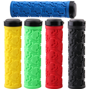 MZYRH Mountain Bike Grips Lock-on Fixed Gear Handlebar Rubber Grips For 22.2mm