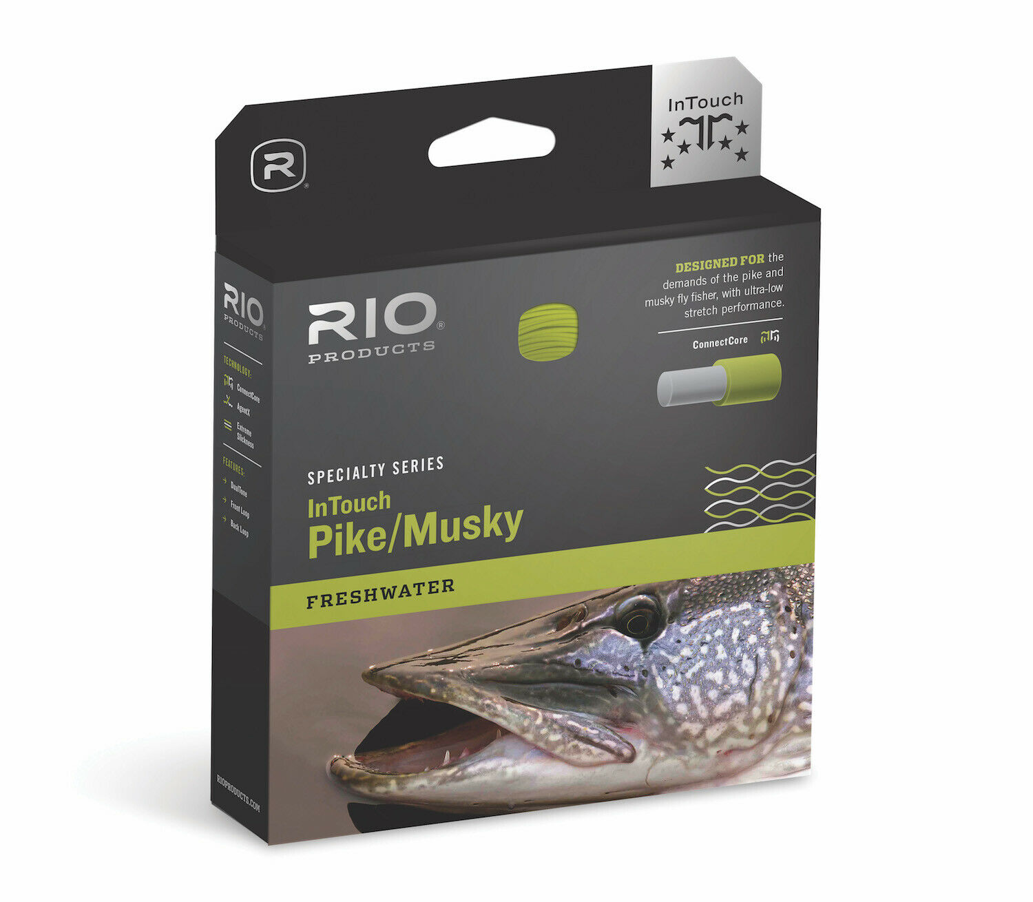 RIO InTouch Pike Mucielo WF8F Fly Line