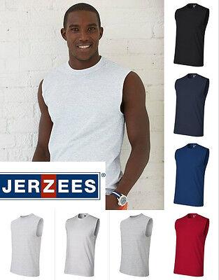 Jerzees Mens New Performance Dri-Power Sleeveless Shooter T-Shirt 29SR S-3XL