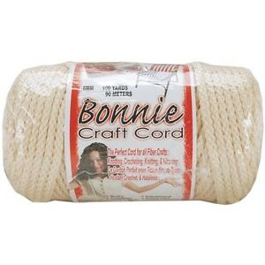 Pepperell Bonnie Macrame Craft Cord 6mm 100 Yards - 257514
