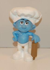 2011 Baker Smurf Rolling Pin 3 Mcdonald S Movie Action Figure 4 Smurfs Ebay