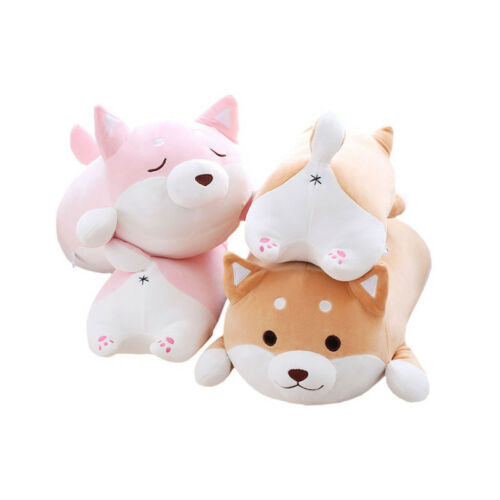 "14//22"" Shiba Inu Plush Pillow Soft Stuffed Toy Cute Dog Shape Gift for Kids"