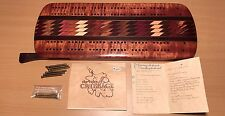 Hawaii Handmade Exotic Wood Koa Vintage Cribbage Score Board Artist Signed Gift