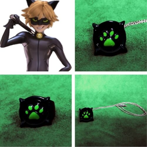 Chat Noir Ring Titanium Metal Cat Noir Ring Adrien Agreste Cat Noir Cosplay
