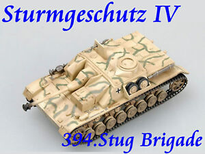 Easy-Model-1-72-Germany-Sturmgeschutz-IV-394-Stug-Brigade-1944-Tank-Model-36133