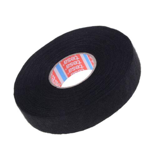 Tesa tape 51608 adhesive cloth fabric wiring loom harness 25m x 19mm NIUS