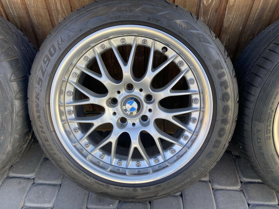 "17"" SPLIT FÆLGE  BMW BBS RS740"