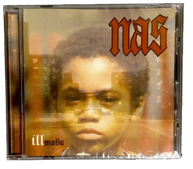 Nas - Illmatic CD NEW SEALED - Dj Premier - Q Tip - Large Professor - Hip Hop