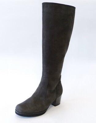 Gabor Comfort Weite G Langschaft Stiefel Reißverschluß Schaft L grau Nubuk | eBay