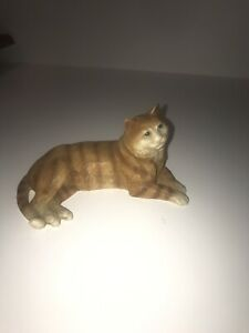 "Castagna Animal Figurine Orange Tabby CAT, 3"" Made in ITALY"