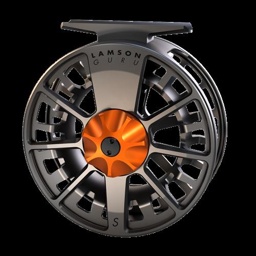 Lamson Guru SSeries 5 Fly Reel Blaze