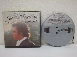 JOHNNY-MATHIS-All-Time-Greatest-Hits-3-IPS-4-Track-Reel-To-Tape-1972-GR-31345