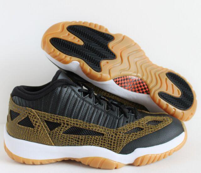 005bfbf9302a Nike Air Jordan XI 11 Retro Low Size 11.5 Black Militia Croc Gum ...