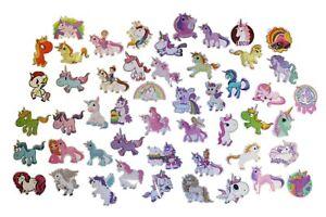 Unicorn-Adesivi-Ricompensa-Per-Bambini-50pcs-Bagaglio-Skateboard-Festa-Impermeabile