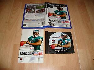 MADDEN-NFL-2006-FUTBOL-AMERICANO-DE-EA-SPORTS-PARA-LA-SONY-PS2-USADO-COMPLETO