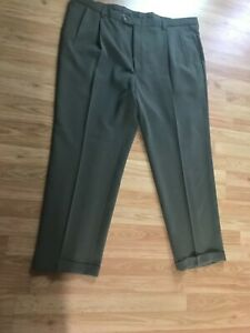 Gray Austin Reed London Men S Dress Pants 46 X 32 Nanotex Big Tall Ebay