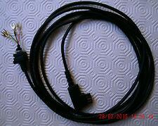 Telefon-Ersatzteil: Anschlusskabel, ca 3 m für W 48,W49, schwarz mit TAE-F, NEU