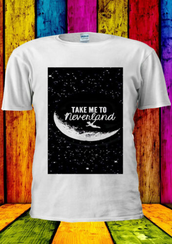 Peter Pan Neverland Star Quotes T-shirt Vest Tank Top Men Women Unisex 332