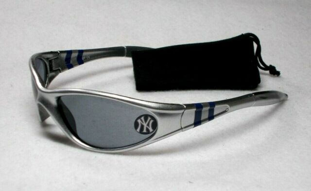 Read Listing! New York Yankees XL logo on XTREME WRAP Sunglasses. Free Pouch!