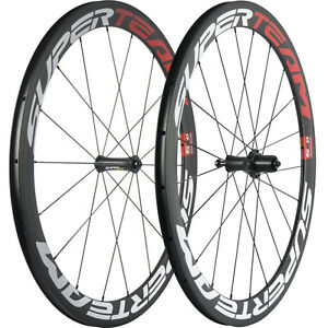 Superteam Bicycle Carbon Wheelset Clincher 50mm Carbon Road Bike