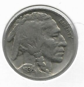 Rare-Old-Antique-1936-US-Buffalo-Indian-Nickel-Collection-Great-USA-Coin-LOT-V33