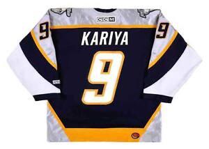 PAUL KARIYA Nashville Predators 2006 CCM Throwback NHL Hockey Jersey ... b9a9a9351f6