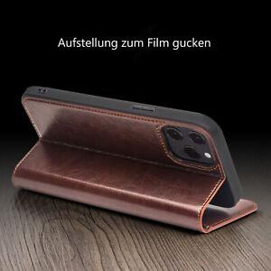 Qialino-Echt-Leder-Flip-Cover-Case-Tasche-mit-Staender-fuer-iPhone-12-mini-Pro-Max
