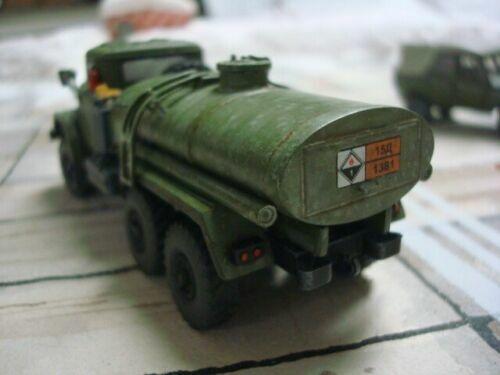ICM 72561-1//72 ZiL-157 Russian Truck Aircraft Fuel Cold War plastic model kit
