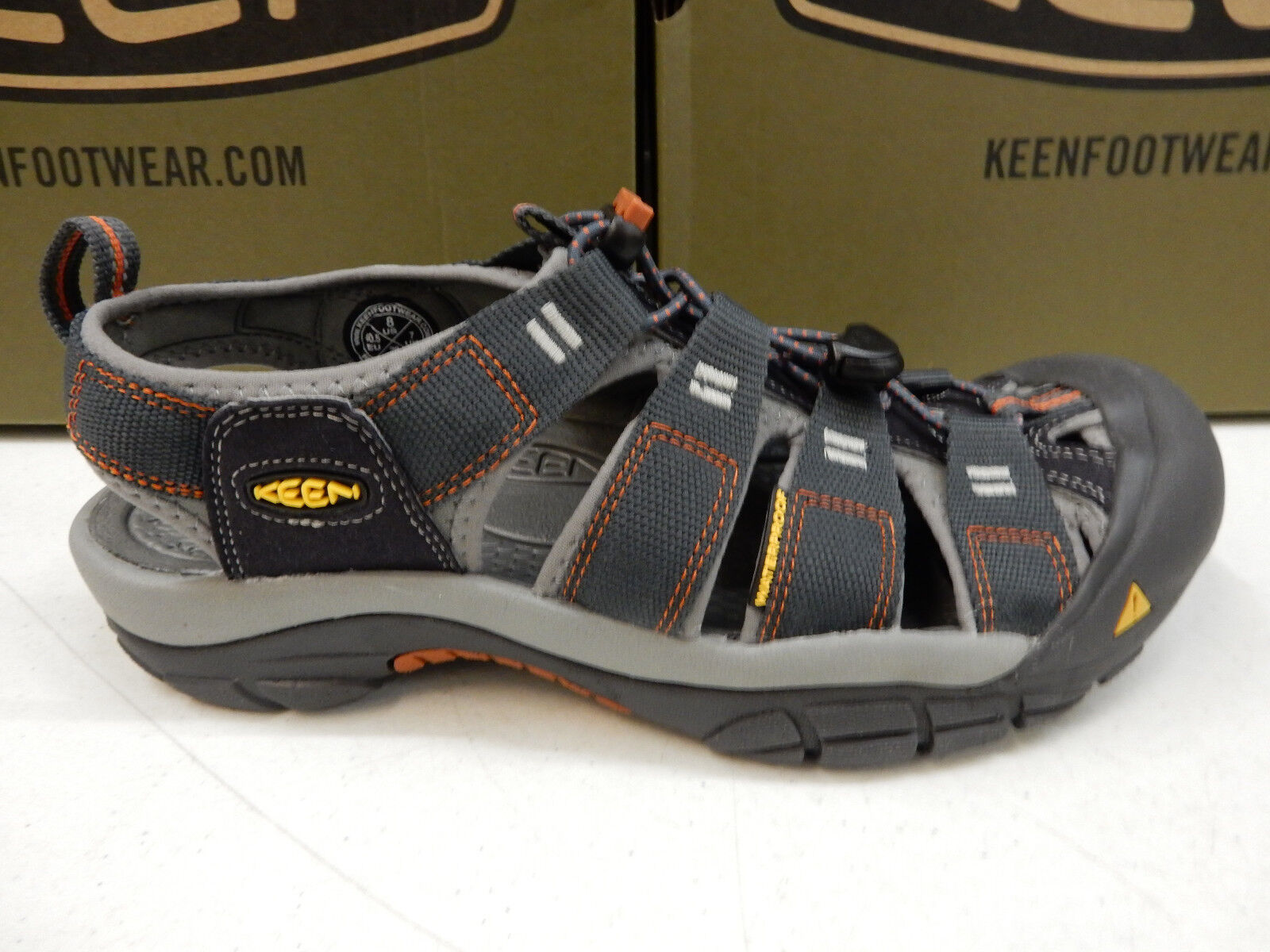 KEEN Uomo SANDALS NEWPORT H2 INDIA INK R T SIZE 12