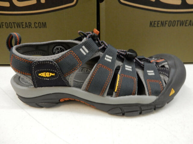 26103410d882 KEEN Mens Navy Blue Newport H2 Light Trail Outdoors Walking Sandals Shoes  9.5