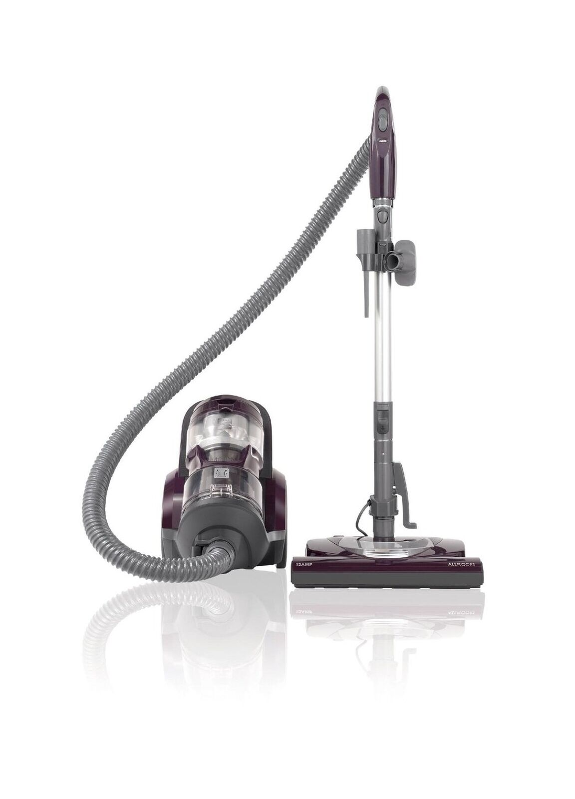 Kenmore Vacuum Cleaner Bagless Canister Household Lightweight Compact Purple New