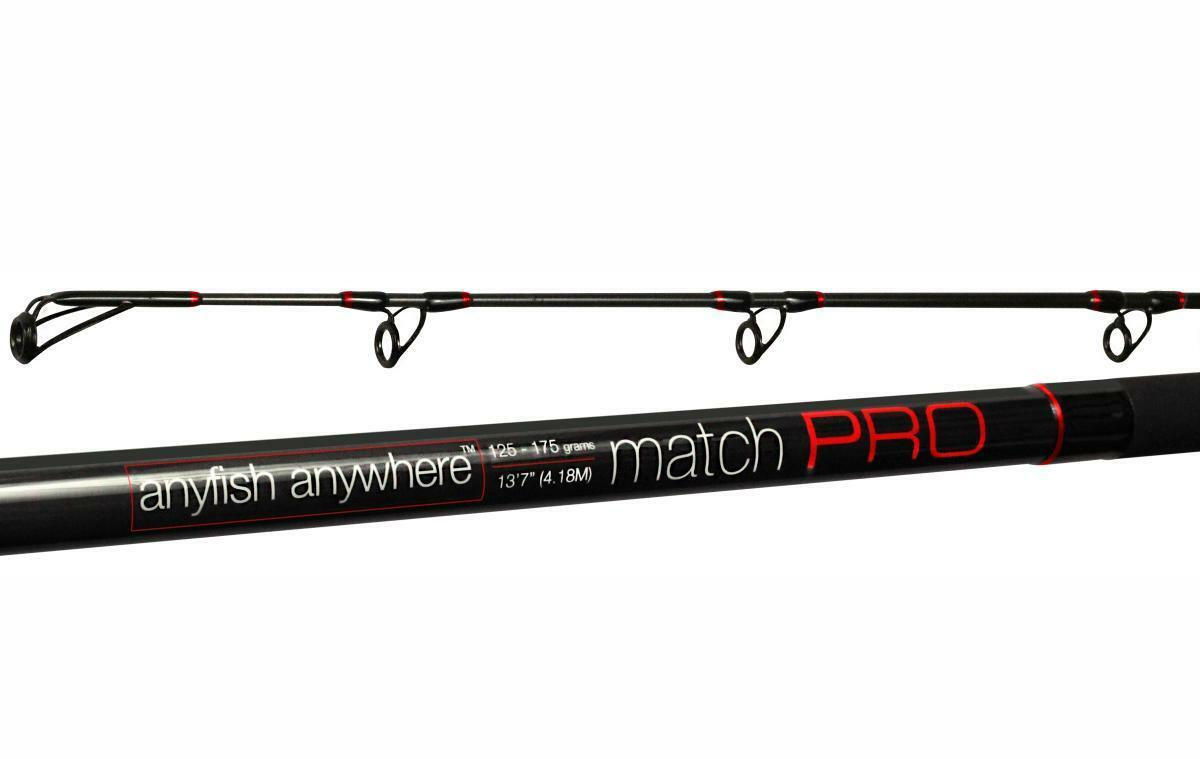 Anyfish Anywhere 13' 7'' Match PRO + FREE Mighty Bright Tip Tape - Red