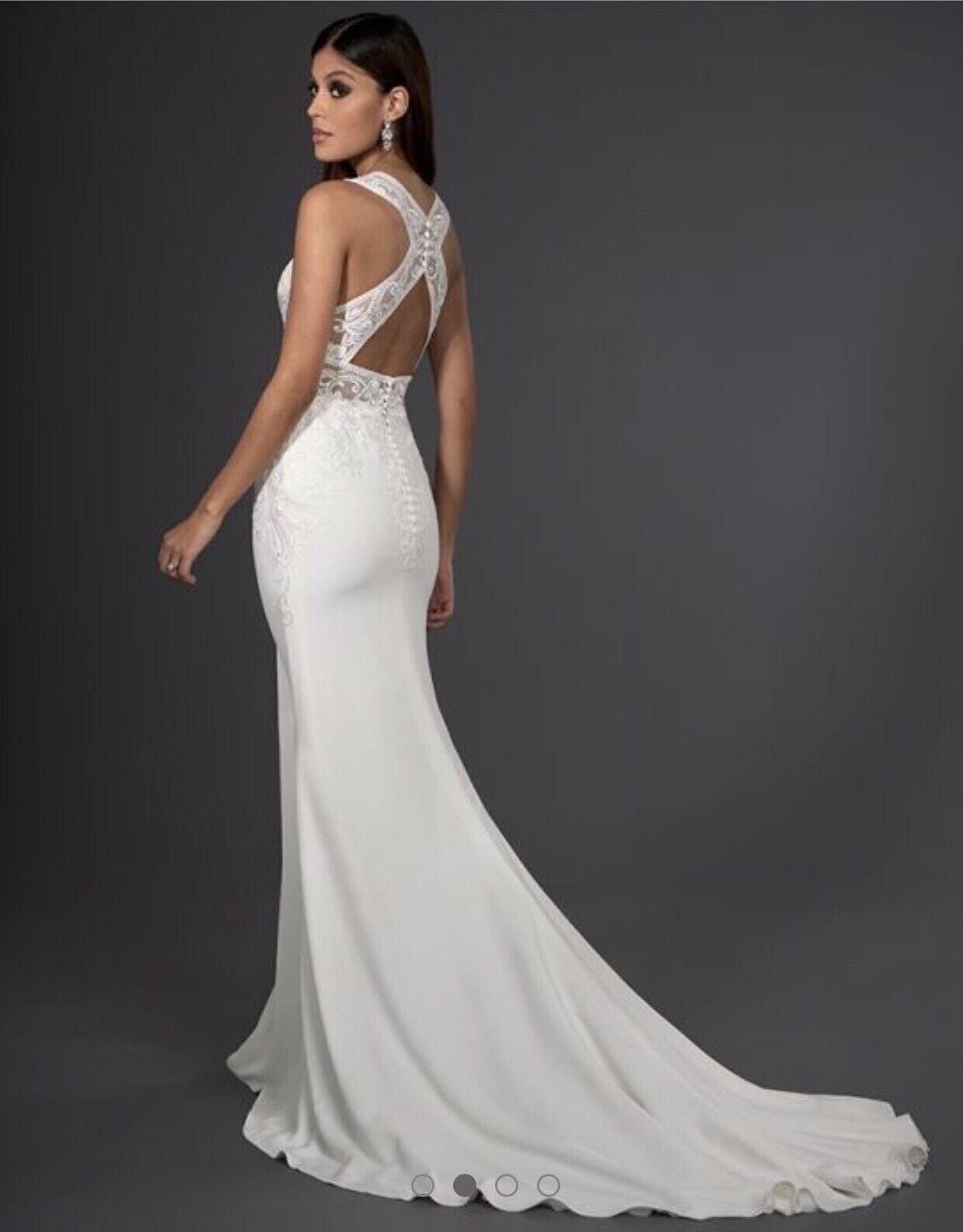 NEW Signature Collection Logan Wedding Dress Size 10